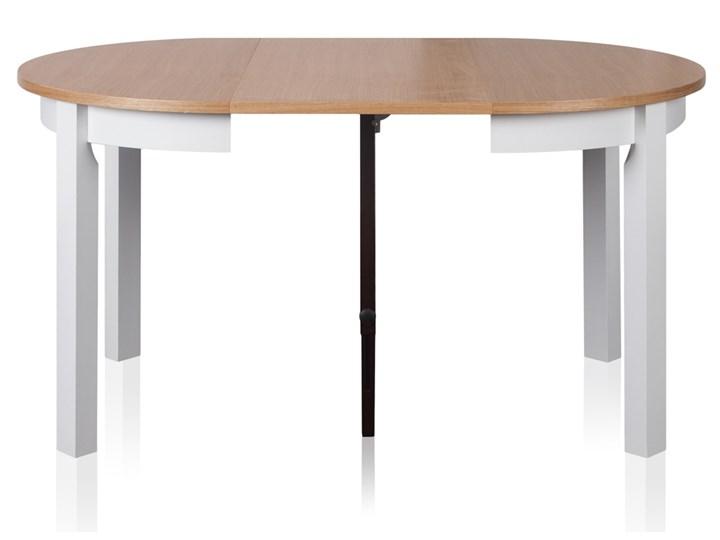 SELSEY Stół rozkładany Gabele okrągły Wysokość 76 cm Długość 250 cm Drewno Szerokość 100 cm Długość 100 cm Styl Minimalistyczny