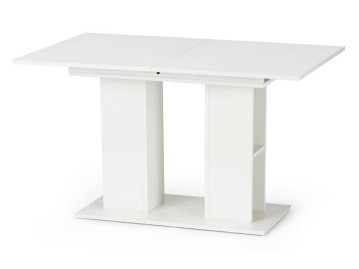 SELSEY Stół rozkładany Obargo 130-170x80 cm biały Długość 130 cm  Płyta MDF Szerokość 130 cm Długość 170 cm Szerokość 100 cm Kategoria Stoły kuchenne Wysokość 76 cm Rozkładanie Rozkładane