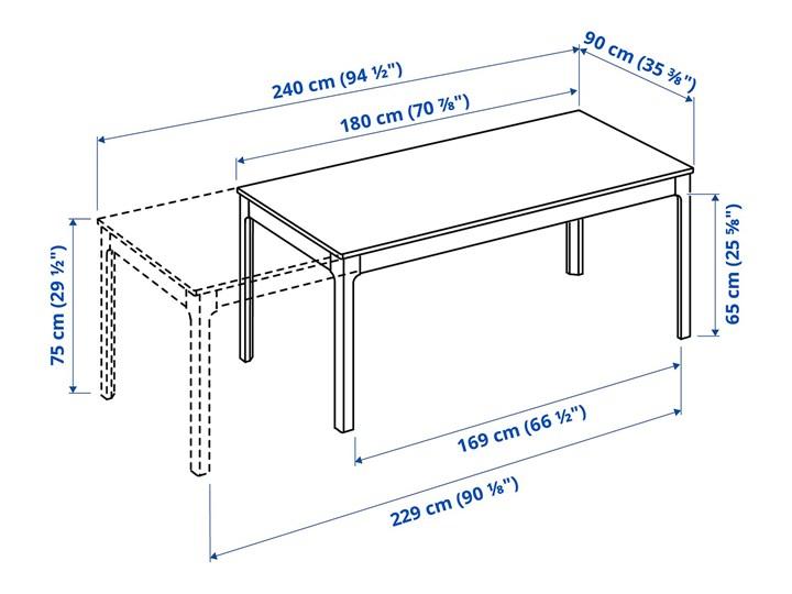IKEA EKEDALEN / BERGMUND Stół i 6 krzeseł, biały/Orrsta jasnoszary/biały, 180/240 cm Liczba krzeseł 8 krzeseł Kategoria Stoły z krzesłami