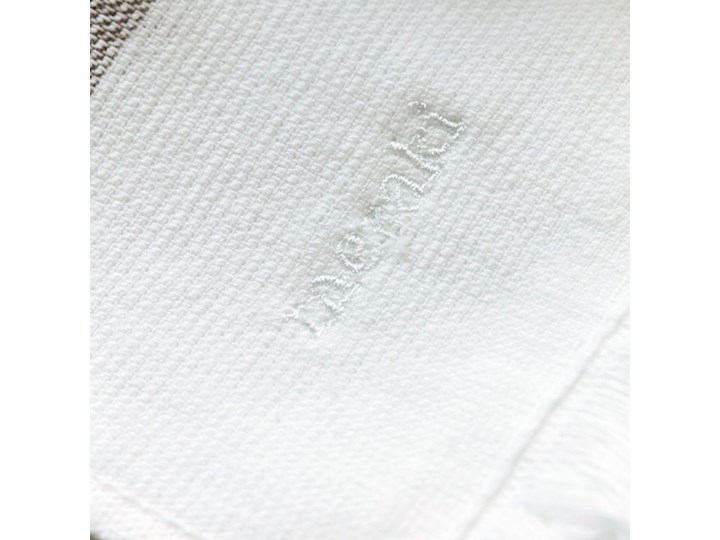 Meraki - Ręcznik Barbarum 100x180 Frotte Kategoria Ręczniki Ręcznik plażowy Bawełna 70x140 cm Kolor Biały