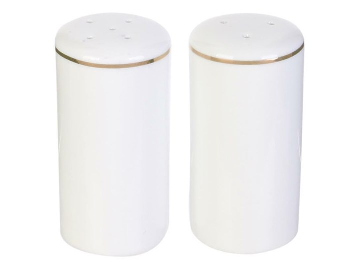 SELSEY Pojemniki na przyprawy Vegera z porcelany Zestaw do przypraw Solniczka i pieprzniczka Ceramika Kategoria Przyprawniki