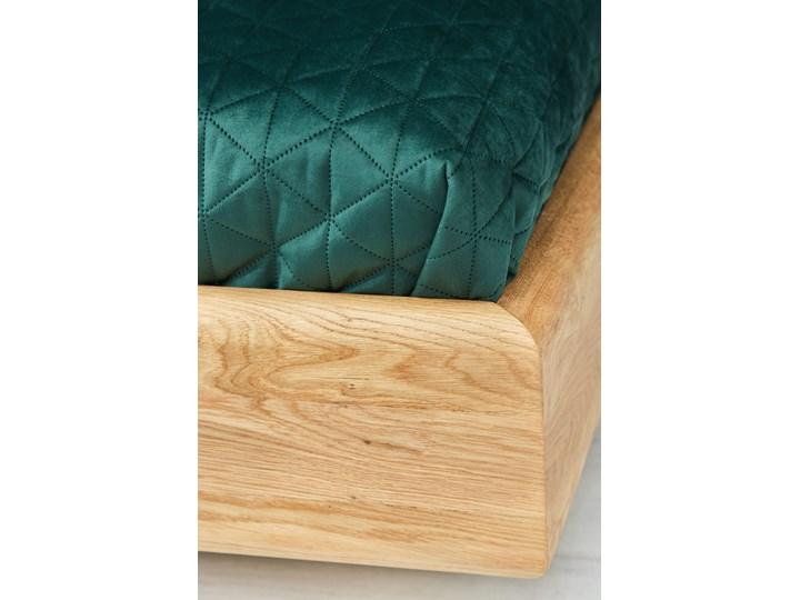 Łóżko lewitujące Dome Dąb 120x200 cm Drewno Łóżko tapicerowane Kolor Szary Kategoria Łóżka do sypialni