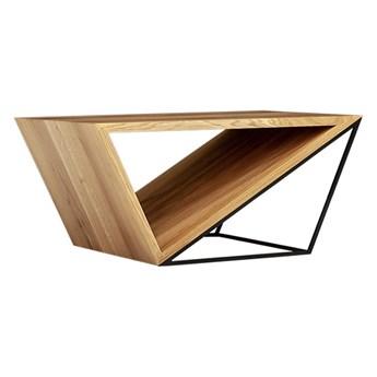 Ława Void z litego drewna Dąb 140 x 60 cm