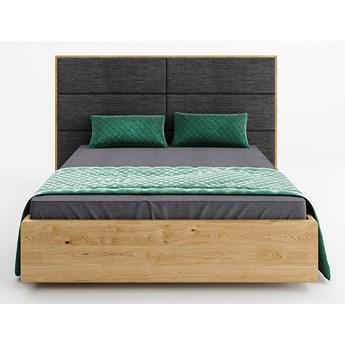Łóżko drewniane Dome z pojemnikiem Dąb 160x200 cm
