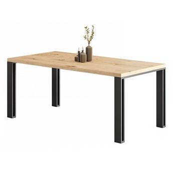 Stół Fold z litego drewna Dąb 180x100 cm