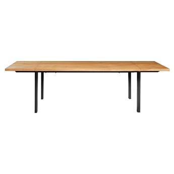 Stół z litego drewna Ramme z dostawkami Dąb 200x100 cm Jedna dostawka 50 cm