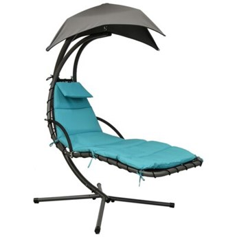 Fotel SASKA GARDEN Lizbona 1020150 Szaro-turkusowy