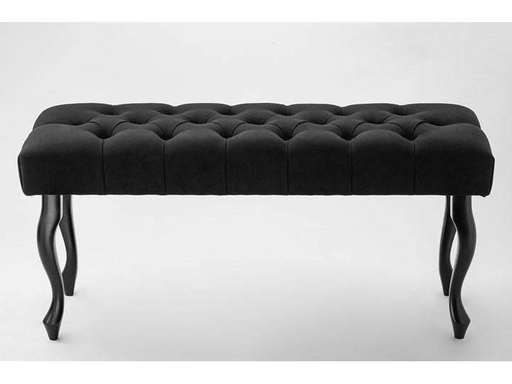 Ławka pikowana Chesterfield Black Kategoria Ławki do salonu Materiał obicia Tkanina