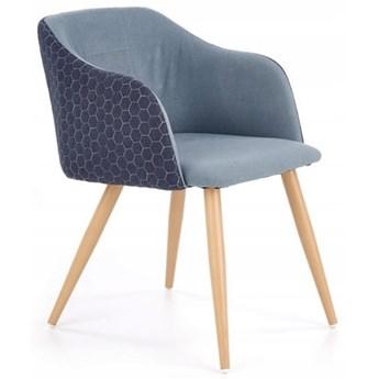 Krzesło K288 Granatowy/Niebieski