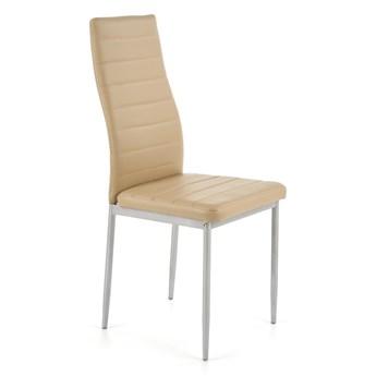Krzesło K70 jasny brąz HALMAR