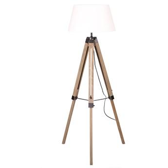 LILAN Lampa podłogowa biała 145 cm
