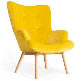 MOSS Fotel żółty 50x96 cm - Homla
