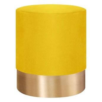 FICA Puf żółto-złoty 35x42 cm - Homla