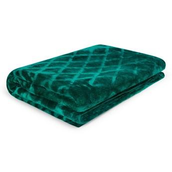 ROSS Koc we wzory zielony 150x200 cm