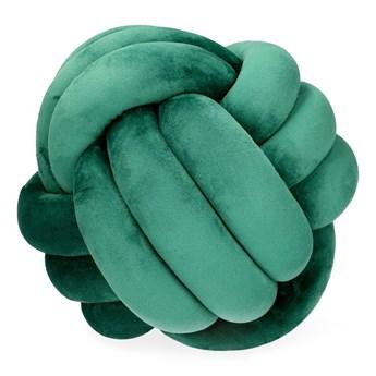 SOLMI NEW Poduszka supeł zielona 27 cm - Homla