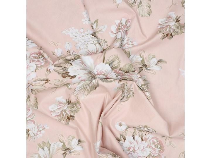 SOPHIA Komplet pościeli bawełnianej w kwiaty różowej 160x200 cm Bawełna Pomieszczenie Pościel do sypialni Kolor Różowy