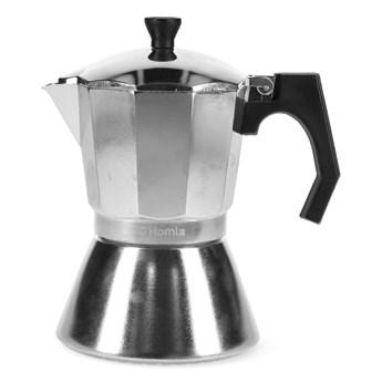 MIA MOKKA Kawiarka srebrna 6 cup