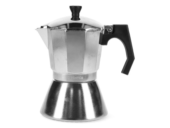 MIA MOKKA Kawiarka srebrna 6 cup - Homla