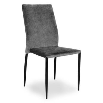 ESSEN Krzesło szare 42x56x90 cm