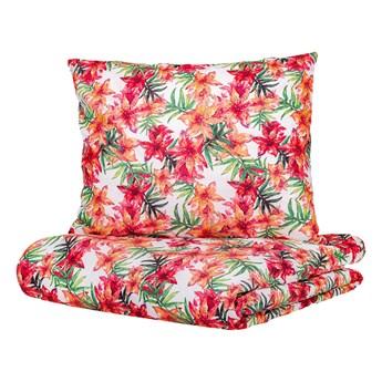 CLEVE Komplet pościeli bawełnianej w kwiaty 160x200 cm - Homla