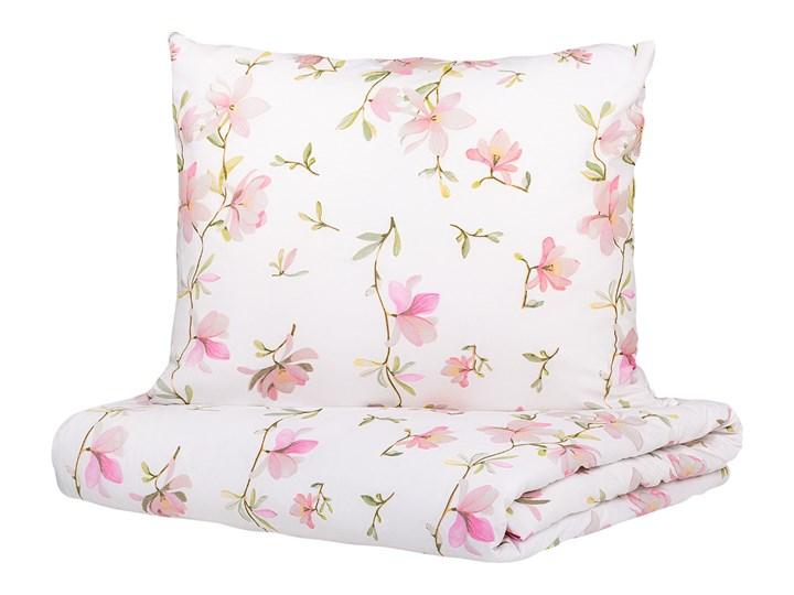 FLOREMI Komplet pościeli bawełnianej w magnolie 160x200 cm - Homla