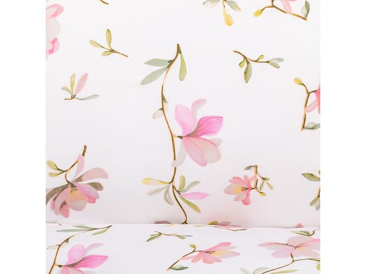 FLOREMI Komplet pościeli bawełnianej w magnolie 160x200 cm Bawełna Kategoria Komplety pościeli