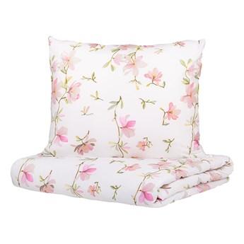 FLOREMI Komplet pościeli bawełnianej w magnolie 200x220 cm - Homla