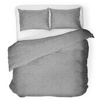 FELIX GREY Komplet pościeli bawełnianej szarej 160x200 cm - Homla