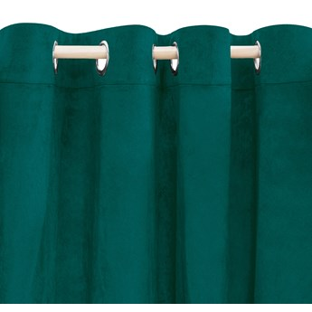 PATTY Zasłona welwetowa zielona 140x250 cm