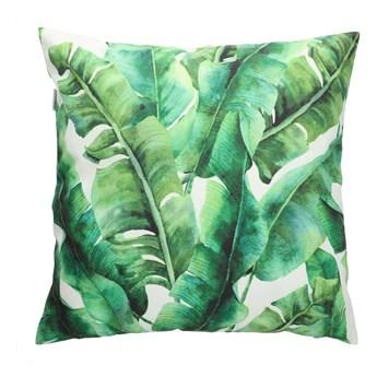 LINZA Poszewka dekoracyjna z motywem liści bananowca 45x45 cm