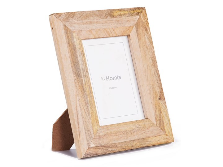 ABESE Ramka na zdjęcie drewniana 13x18 cm - Homla