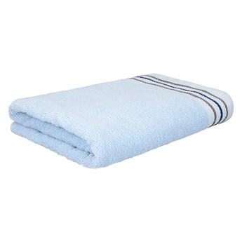 OCTOPUS Ręcznik bawełniany z lamówką niebieski 50x90 cm