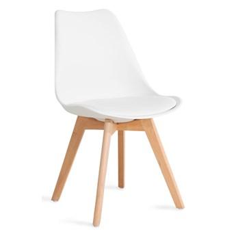 FISCO Krzesło białe 48x56x82 cm - Homla
