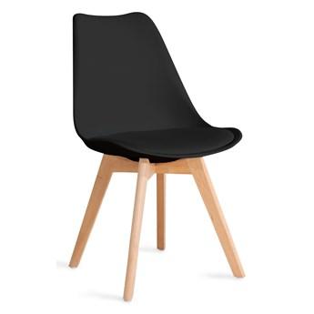 FISCO Krzesło czarne 48x56x82 cm - Homla