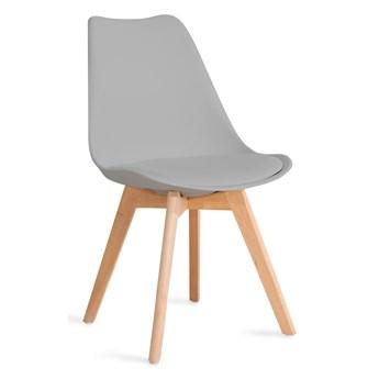 FISCO Krzesło szare 48x56x82 cm - Homla