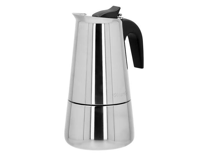 MIA MOKKA Kawiarka w kształcie dzbanka 6 cup Kategoria Kawiarki i kafetery Kolor Srebrny