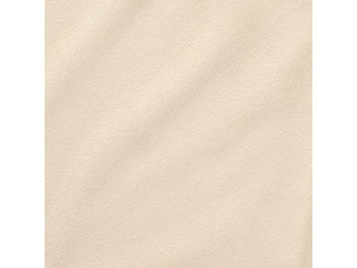 PATTY Zasłona welwetowa beżowa 140x250 cm Kolor Beżowy Typ Zasłony gotowe