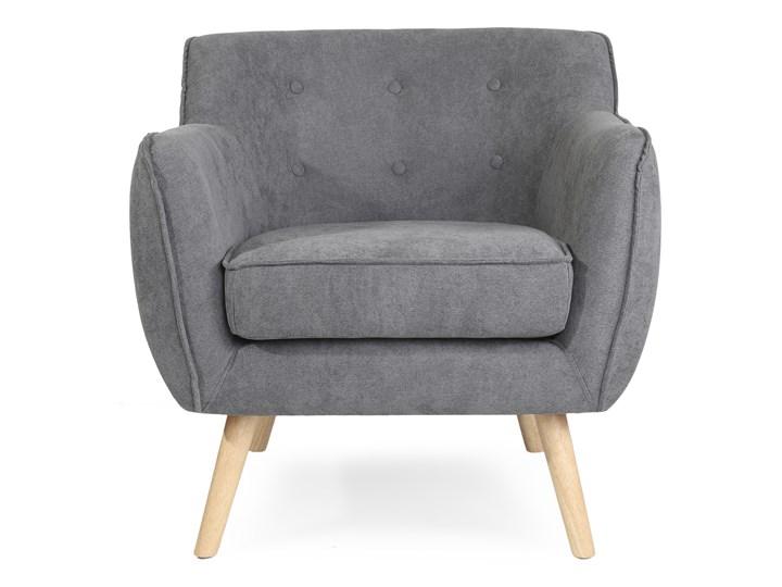 STOKKE NATURAL Fotel tapicerowany szary 77x77x78 cm Głębokość 77 cm Szerokość 77 cm Kategoria Fotele do salonu