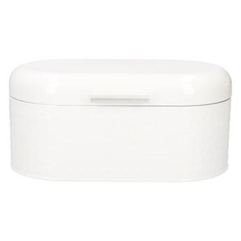HASSEL Chlebak biały 34x18x16 cm - Homla