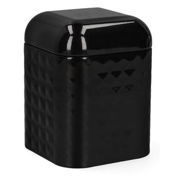HASSEL Pojemnik czarny 11,5x15 cm