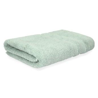 CLAT Ręcznik z delikatnym lureksem zielony 50x90 cm