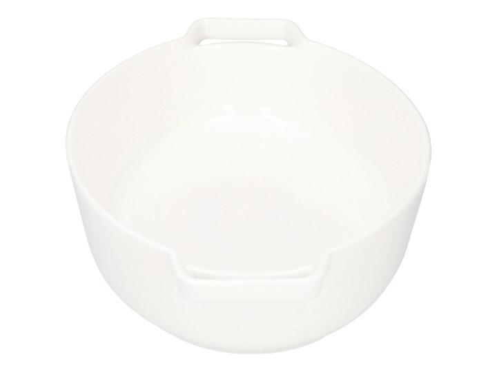 BAKER Naczynie do zapiekania białe 29x18 cm Kolor Biały