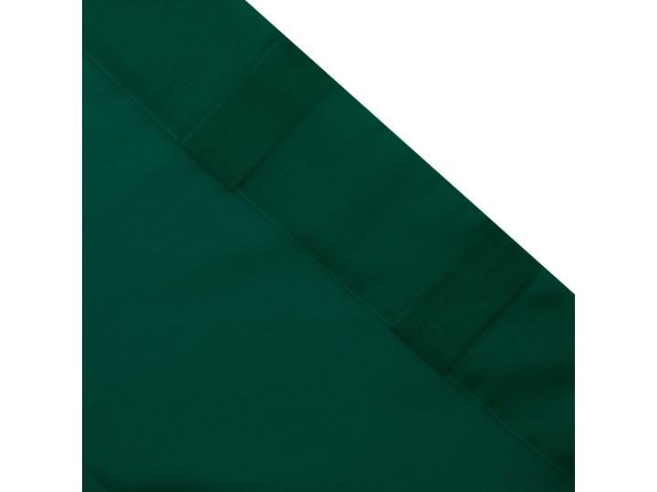ADI Zasłona z pomponikami zielona 140x250 cm Typ Zasłony gotowe