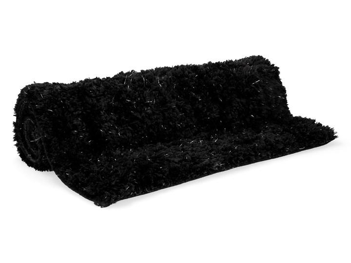 WHISP Dywanik łazienkowy z lureksem czarny 50x80 cm - Homla
