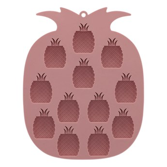 FORS Foremka do lodu ananas różowa 14x18 cm