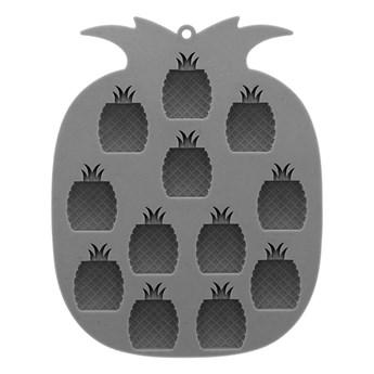 FORS Foremka do lodu ananas szara 14x18 cm