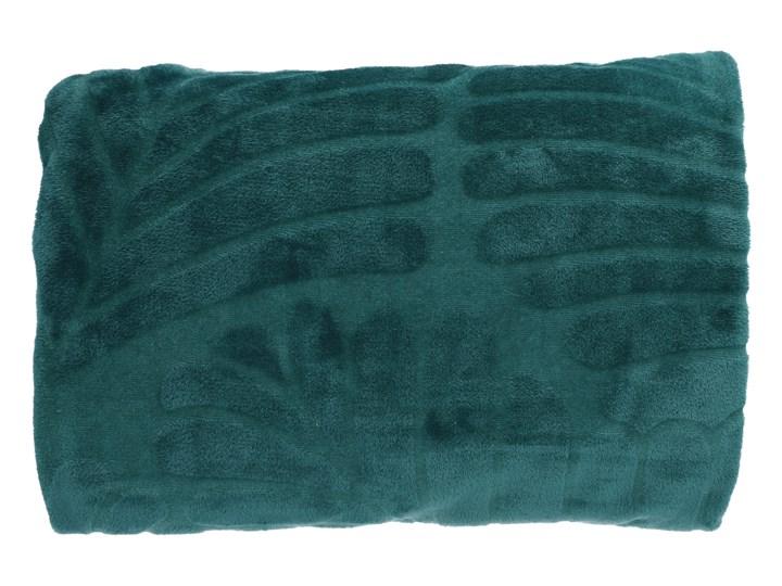 MONSTI Koc z wytłoczeniami zielony 150x200 cm Poliester Kategoria Koce i pledy