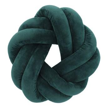 OJEDA Poduszka węzeł zielona 30 cm - Homla