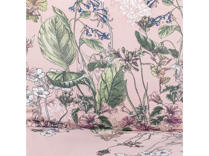 TANGIT Komplet pościeli satynowej w kwiaty 160x200 cm Bawełna Rozmiar poduszki 70x80 cm Satyna 70x80 cm Pomieszczenie Pościel do sypialni