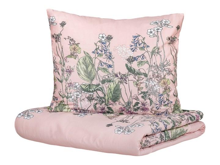 TANGIT Komplet pościeli satynowej w kwiaty 220x200 cm Satyna 200x220 cm Pomieszczenie Pościel do sypialni